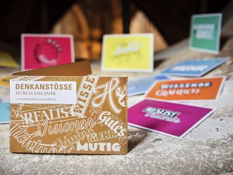 """Postkartenset """"Denkanstöße"""""""