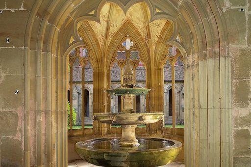 Brunnenhaus im Kloster Maulbronn