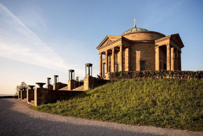 Grabkapelle auf dem Württemberg von außen