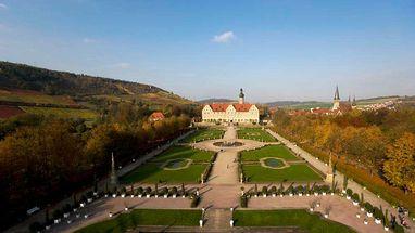 Schloss und Schlossgarten Weikersheim; Foto: Staatliche Schlösser und Gärten Baden-Württemberg, Achim Mende
