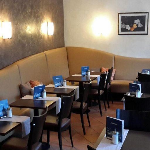Schloss Favorite Rastatt, Schlosscafé Favorite, Innenraum