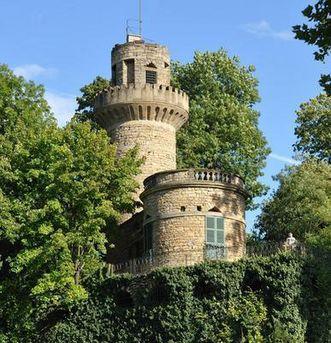 Emichsburg im Garten des Residenzschlosses Ludwigsburg; Foto: Landesmedienzentrum Baden-Württemberg, Marcus Bugbee