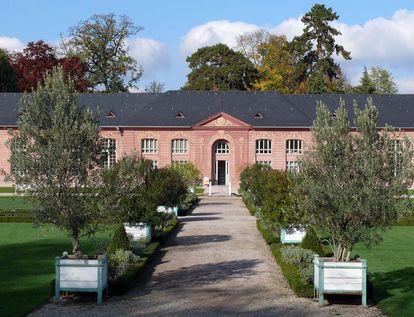 Orangerie im Schlossgarten Schwetzingen;  Foto: Staatliche Schlösser und Gärten Baden-Württemberg, Petra Pechacek