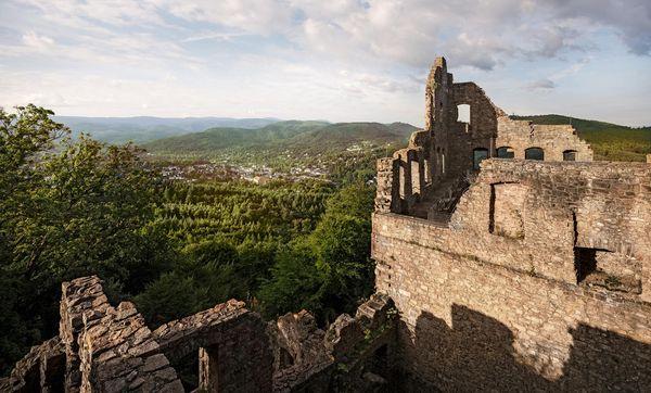 Altes Schloss Hohenbaden, Ruine