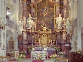 Kloster Schöntal, Hochalter im Chorraum der Klosterkirche Schöntal