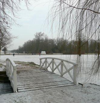Brücke im Schlossgarten Schwetzingen