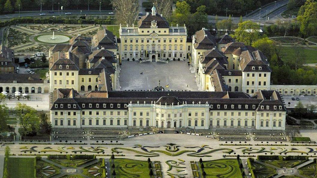 Residenzschloss Ludwigsburg, Luftansicht