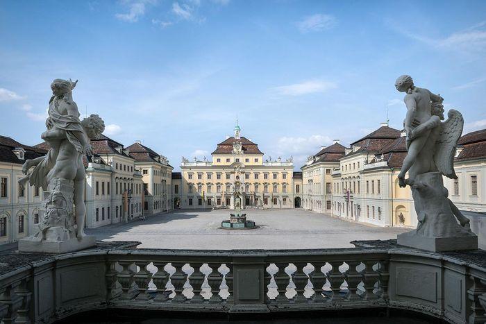 Residenzschloss Ludwigsburg, Balkon