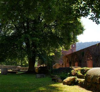 Ruins of the Church of St. Peter and Paul at Hirsau Monastery. Image: Calw Tourist Information