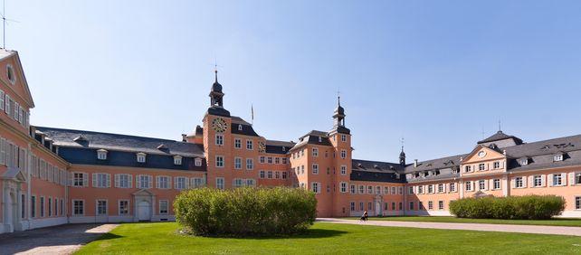 Schloss Schwetzingen, Ehrenhof; Foto: Staatliche Schlösser und Gärten Baden-Württemberg, Ursula Wetzel