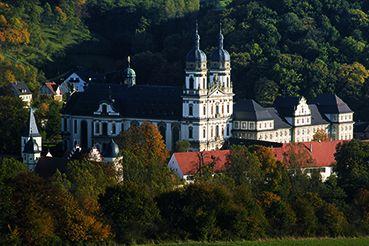Ansicht von Kloster Schöntal; Foto: Staatliche Schlösser und Gärten Baden-Württemberg, Jürgen Besserer