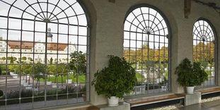 Die Orangerie in Schloss Weikersheim
