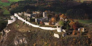 Festungsruine Hohentwiel von oben