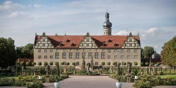 Schloss und Schlossgarten Weikersheim von außen