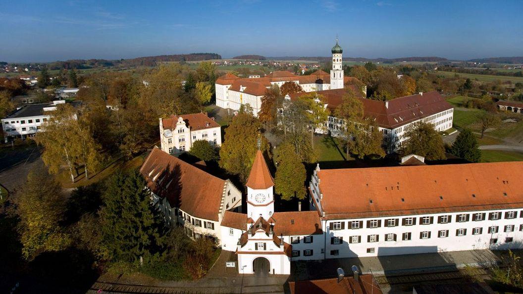 Kloster Schussenried, Luftansicht