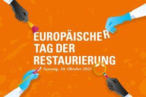 Werbemotiv der Staatlichen Schlösser und Gärten Baden-Württemberg zum Europäischer Tag der Restaurierung