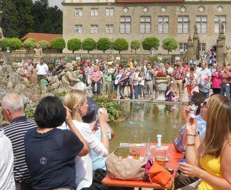 Fest im Schloss und Schlossgarten Weikersheim