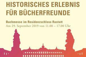 Residenzschloss Rastatt, Buchmesse 2019