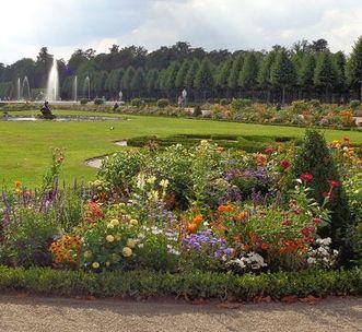Kreisparterre im Schwetzinger Schlossgarten; Foto: Staatsanzeiger für Baden-Württemberg, Cornelia Lindenberg