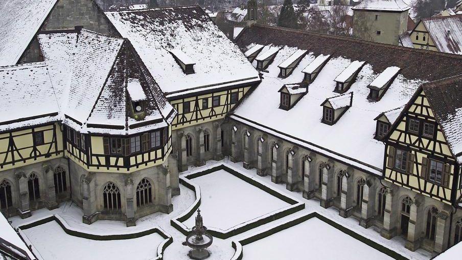 Kloster und Schloss Bebenhausen, Luftansicht