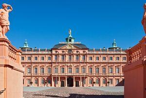 Residenzschloss Rastatt, Aufgang zum Ehrenhof