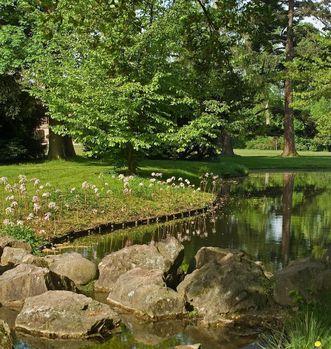Rastatt Favorite, Schlossgarten;   Foto: Staatliche Schlösser und Gärten Baden-Württemberg, Andrea Rachele