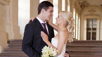 Brautpaar in Residenzschloss Rastatt, Bildnachweis: AMEA Design & More