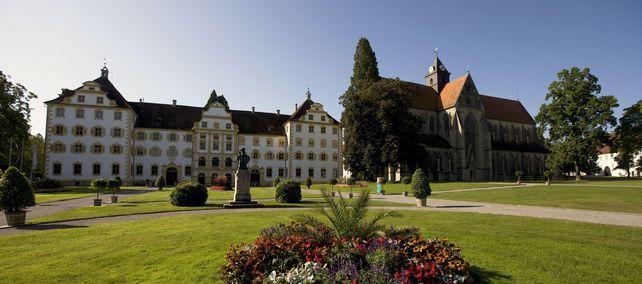 Kloster und Schloss Salem; Foto: Staatliche Schlösser und Gärten Baden-Württemberg, Achim Mende