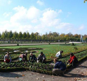 Gärtnerinnen in Schwetzingen