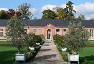 Neue Orangerie im Schlossgarten Schwetzingen