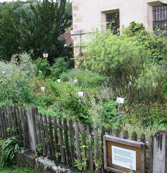 Kräutergarten in Bebenhausen; Foto: Staatliche Schlösser und Gärten Baden-Württemberg, Ortsverwaltung Bebenhausen