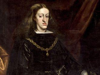 König Karl II. von Spanien, Gemälde von Juan Carreño de Miranda um 1685