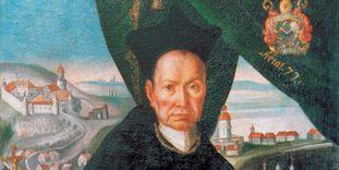 Detailansicht Porträt Abt Knittel