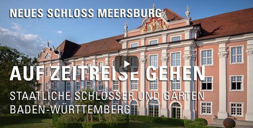"""Startbildschirm des Films """"Auf Zeitreise gehen: Neues Schloss Meersburg"""""""