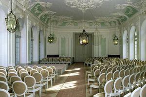 Schloss und Schlossgarten Schwetzingen, Innen, Jagdsaal