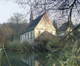 Exterior of the pilgrimage chapel, Neusaß. Image: Staatliche Schlösser und Gärten Baden-Württemberg, Jürgen Besserer