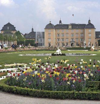 Tulpen im Schlossgarten Schwetzingen
