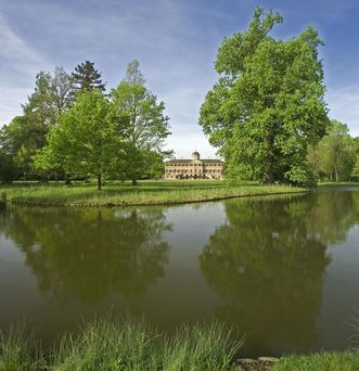 Schloss und Schlossgarten Favorite Rastatt;  Foto: Staatliche Schlösser und Gärten Baden-Württemberg, Andrea Rachele