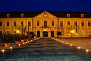 Residenzschloss Ludwigsburg am Abend