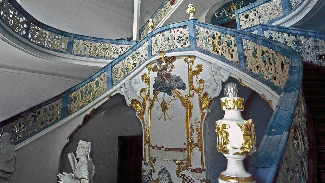 Staircase in the Neue Abtei