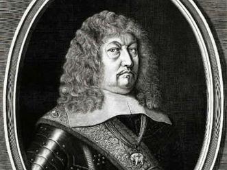 Porträt Herzog Eberhards III. von Württemberg, Kupferstich um 1654