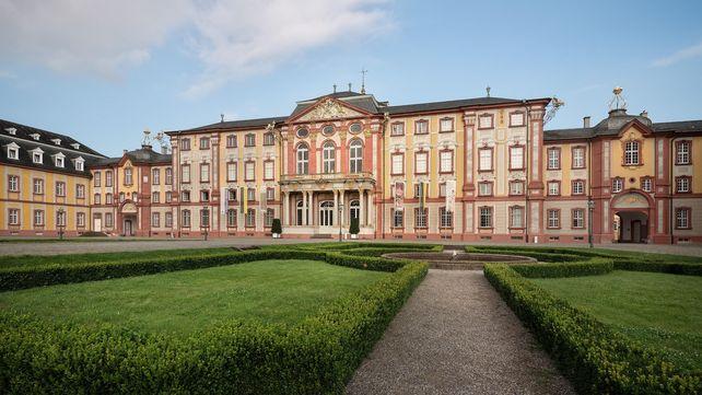 Schloss Bruchsal, Außenaufnahme; Foto: Staatliche Schlösser und Gärten Baden-Württemberg, Günther Bayerl