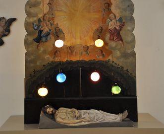Heiliges Grab in Kloster Schussenried; Foto: Staatliche Schlösser und Gärten Baden-Württemberg, Felix Muhle