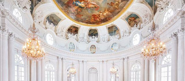 Schloss Solitude Stuttgart, Weißer Saal
