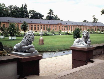 Orangerie im Schlossgarten Schwetzingen; Foto: Staatliche Schlösser und Gärten Baden-Württemberg, Urheber unbekannt