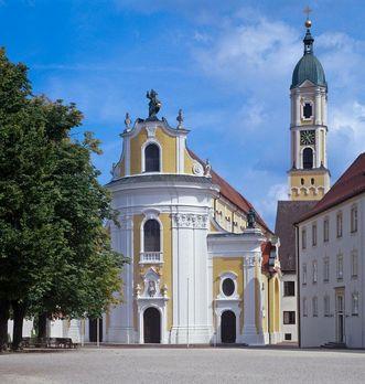 Kloster Ochsenhausen, Vorplatz