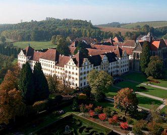 Kloster Salem aus der Luft; Foto: Staatliche Schlösser und Gärten Baden-Württemberg, Achim Mende