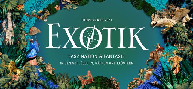 Motiv der Staatlichen Schlösser und Gärten Baden-Württemberg zum Themenjahr 2021