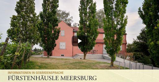 """Startbildschirm des Filmes """"Fürstenhäusle Meersburg: Informationen in Gebärdensprache"""""""