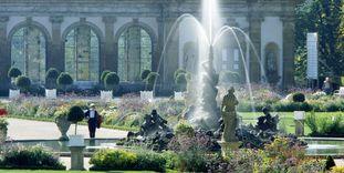 Herkulesbrunnen im Schlossgarten Weikersheim